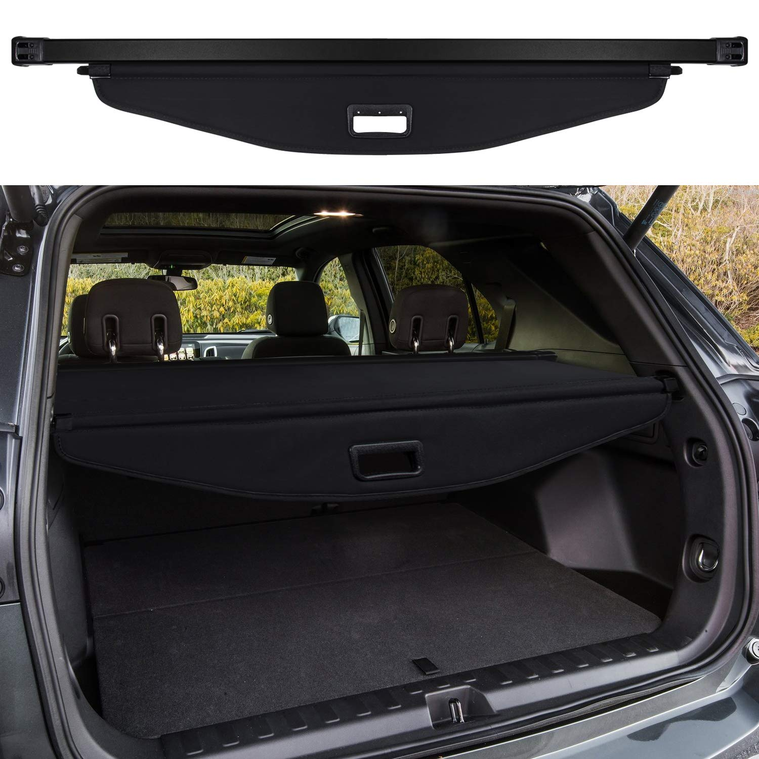 For Chevrolet Equinox Rear Trunk Security Shield Cargo
